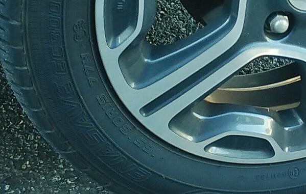 ハスラーのタイヤ